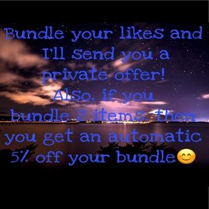 Bundle & Private Offers!